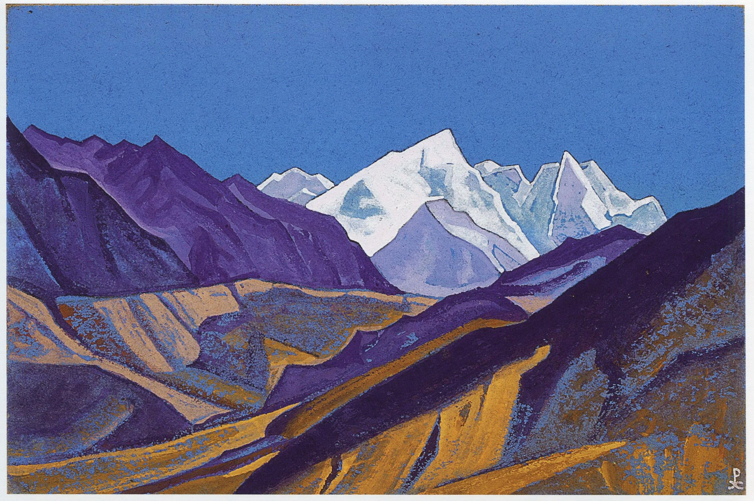 картинки горы рерих