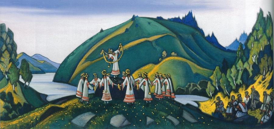 Николай Рерих. Весна Священная
